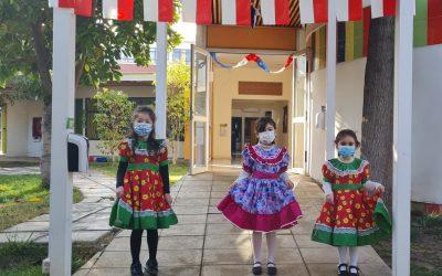 El Ciclo de Educación Parvularia Inicio a la Semana de la Chilenidad